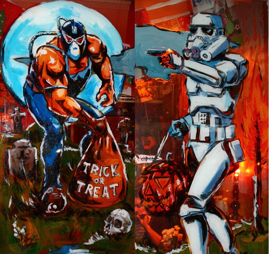 Halloween, Bane & Stormtrooper