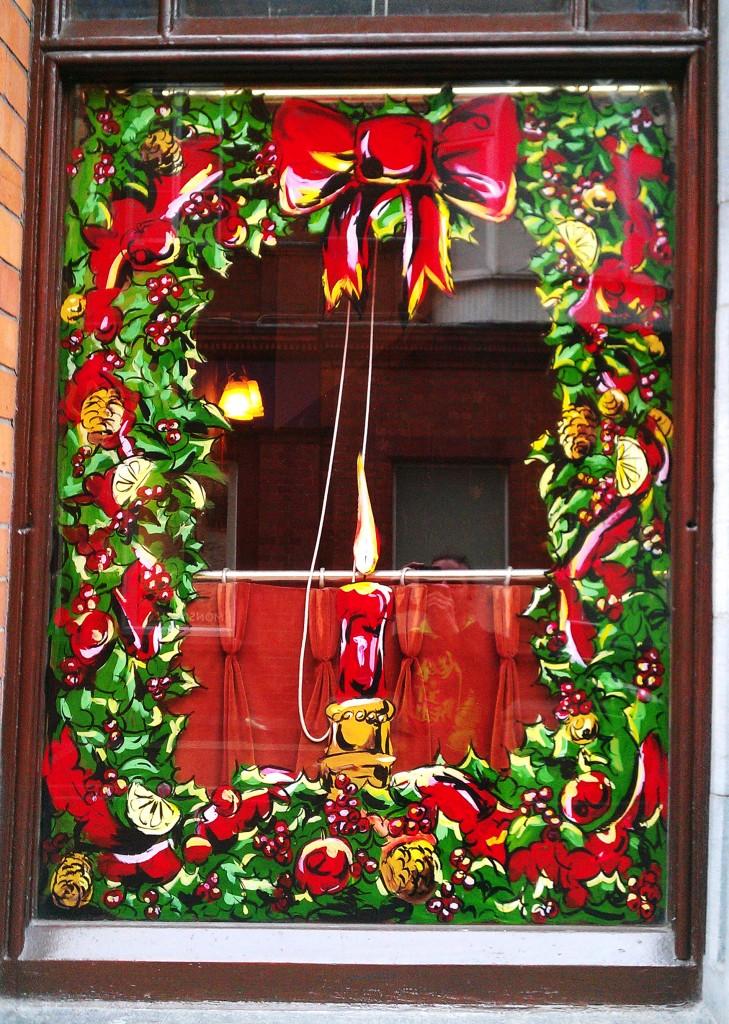 Festive Border – Neary's, Chatham Street, Dublin 2