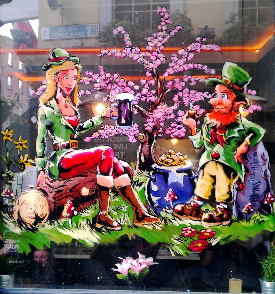 Spring Scene – Bobo's, Dame St, Dublin 2